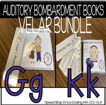 Auditory Awareness Books - Velar Bundle {K & G}