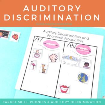 Auditory Discrimination & Phoneme Production