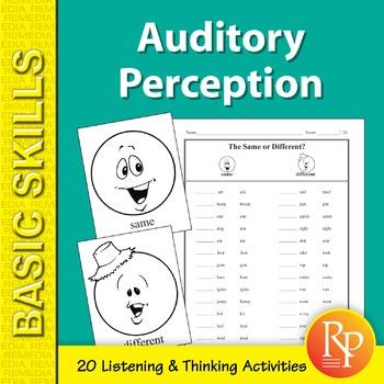Auditory Perception Activities
