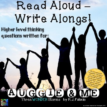 Auggie & Me Read Aloud Write Along