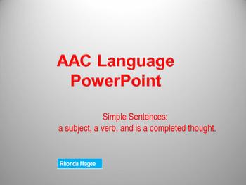 Augmentative and Alternative Communication (AAC) Device