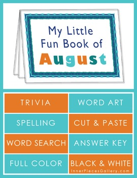 My Little Fun Book of August Helps Reinforce the Months of
