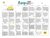 August 2017- Early Learning Calendar
