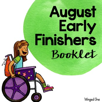 Early Finishers August Booklet