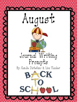 August Everyday Writing Journals Printable