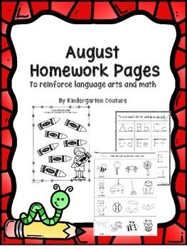 August Homework