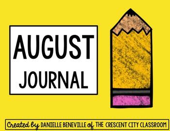 August Journal Mini-Books