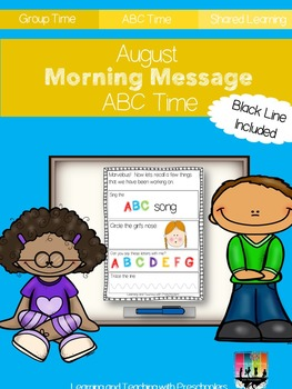 August Morning Message ABC Time
