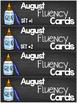 August Progressive Fluency Cards