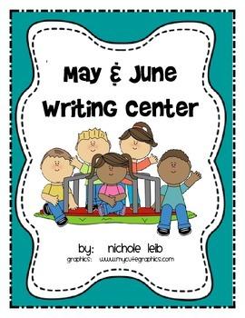 May & June Writing Center - Nichole Leib