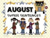 August Super Sentences