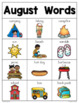 August Writing Center Mini-Packet