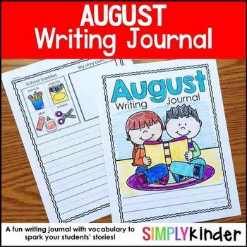 August Writing Journals