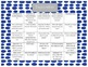 August and September writing calendars