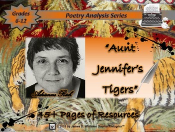 Aunt Jennifer's Tigers by Adrienne Rich Poem Study and Poe
