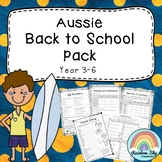 Aussie Back to School Pack