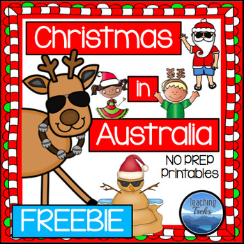 Christmas in Australia Freebie