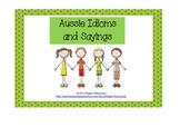Australian Idioms and Sayings