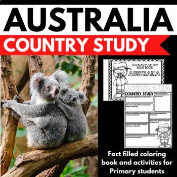 Australia Country Study Mini Book Unit