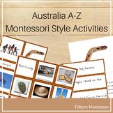 Australia A-Z Montessori Pack