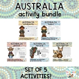 Australia Activity Pack Bundle