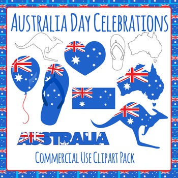 Australia Day Celebrations - Australian Flag - Commercial