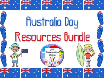 Australia Day Resources Bundle