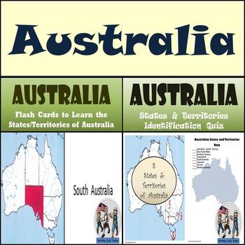 Australia - Flash Cards & Quiz Bundle!