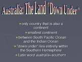 Australia: Government, Geography, Economy, History & Peopl