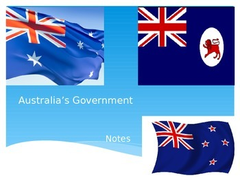 Australia Government Notes