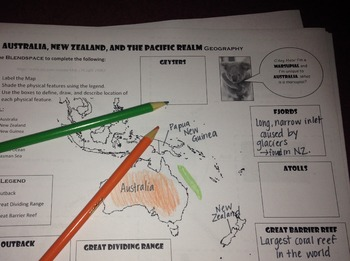 Australia, New Zealand, and the Pacific Realm Geography