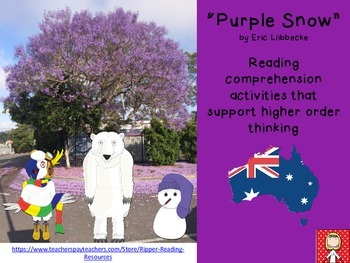 "Australia: ""Purple Snow"" by Eric Löbbecke - reading compre"