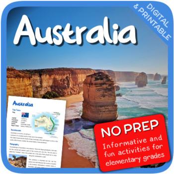 Australia (Fun stuff for elementary grades)