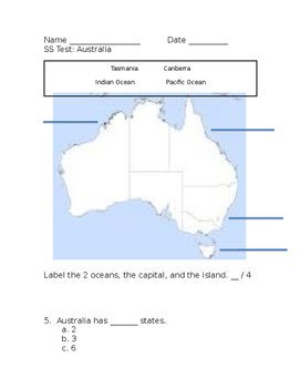 Australia Test Cont.