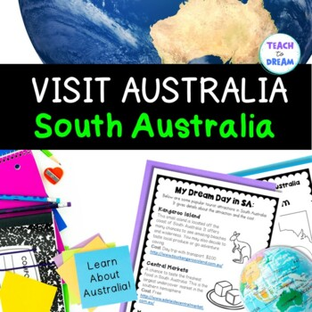 Australia Geography Activities and Tasks: South Australia