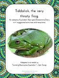 Australian Aboriginal Dreamtime Story: Tiddalick, the very