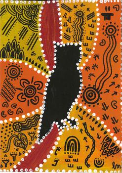 Art Lesson: Australian Aboriginal Art & History Activity #3