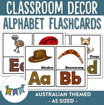 Australian Alphabet Flashcards