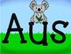 Australian Animals Banner Display