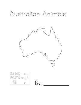 Australian Animals Book