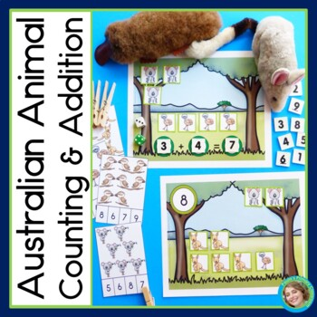 Australian Animals Counting and Addition