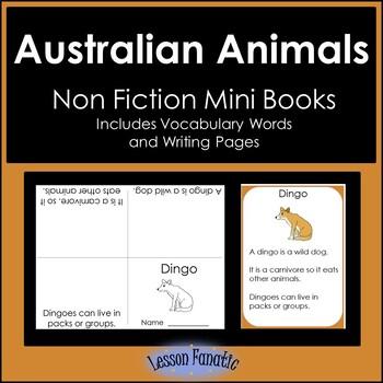 Australian Animals Non Fiction Mini Books