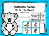 Australian Animals Write The Room