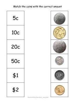 Australian Coin Matching