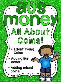 Australian Money: Australian Coins MEGA Math Unit