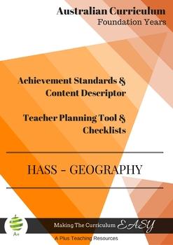 Australian Curriculum Achievement Standard & Curriculum Tr