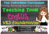 Australian Curriculum English v8.3 Pre Primary/Foundation