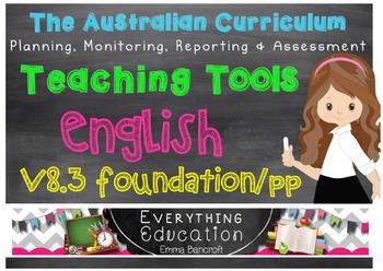 Australian Curriculum English v8.3 Pre Primary/Foundation