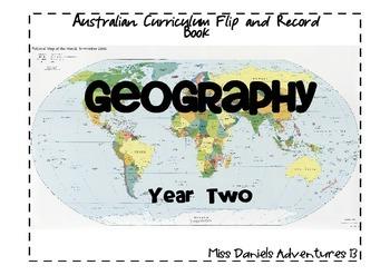 Australian Curriculum Geography Flap Book Yr 2