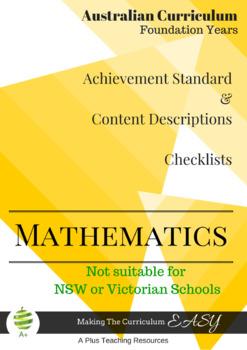 Australian Curriculum Planning Tool & Checklists - Foundat